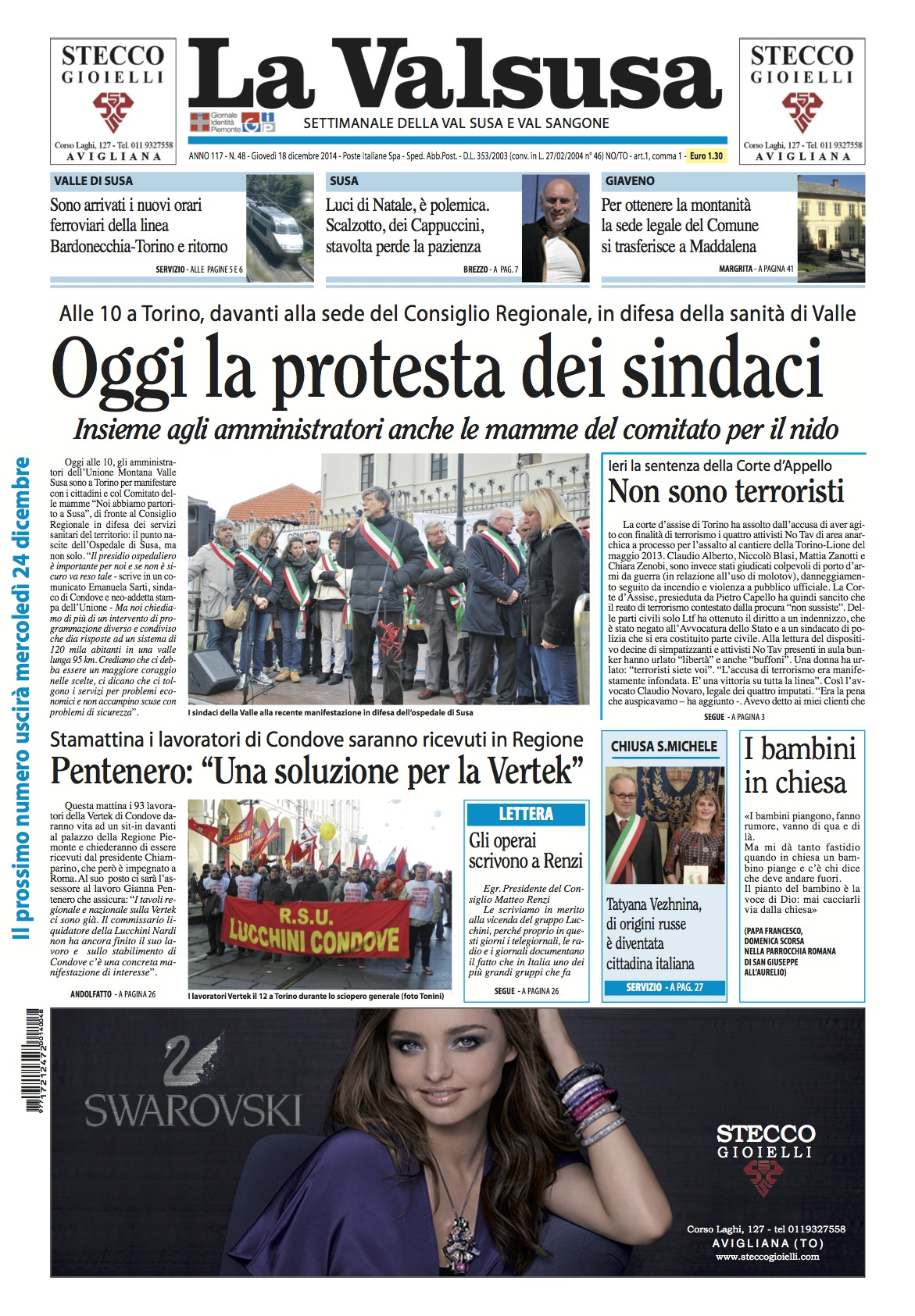 n. 48 del 18 dicembre 2014