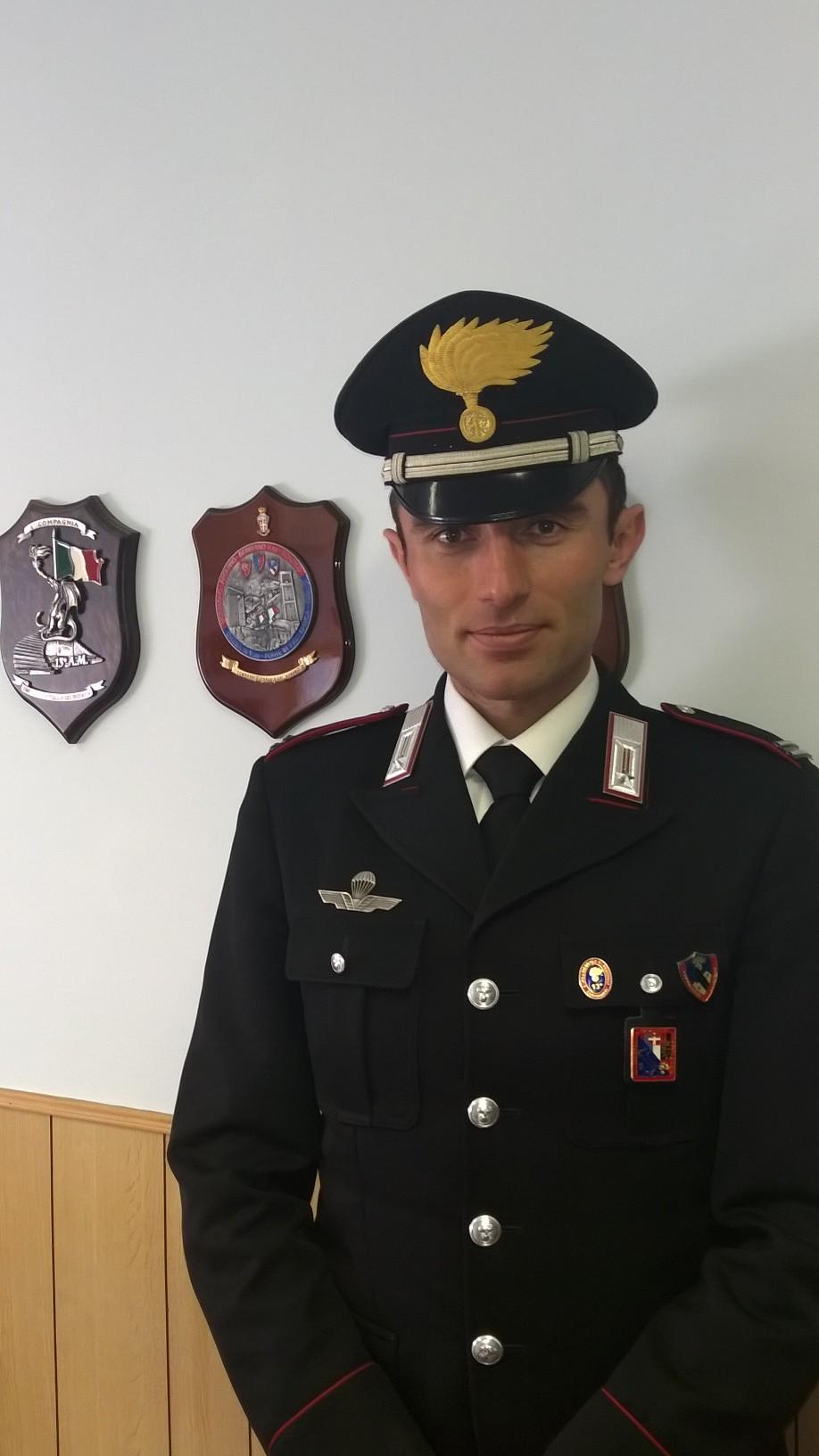 Il mar. Barberis è il nuovo Comandante della Stazione Carabinieri di Sestriere