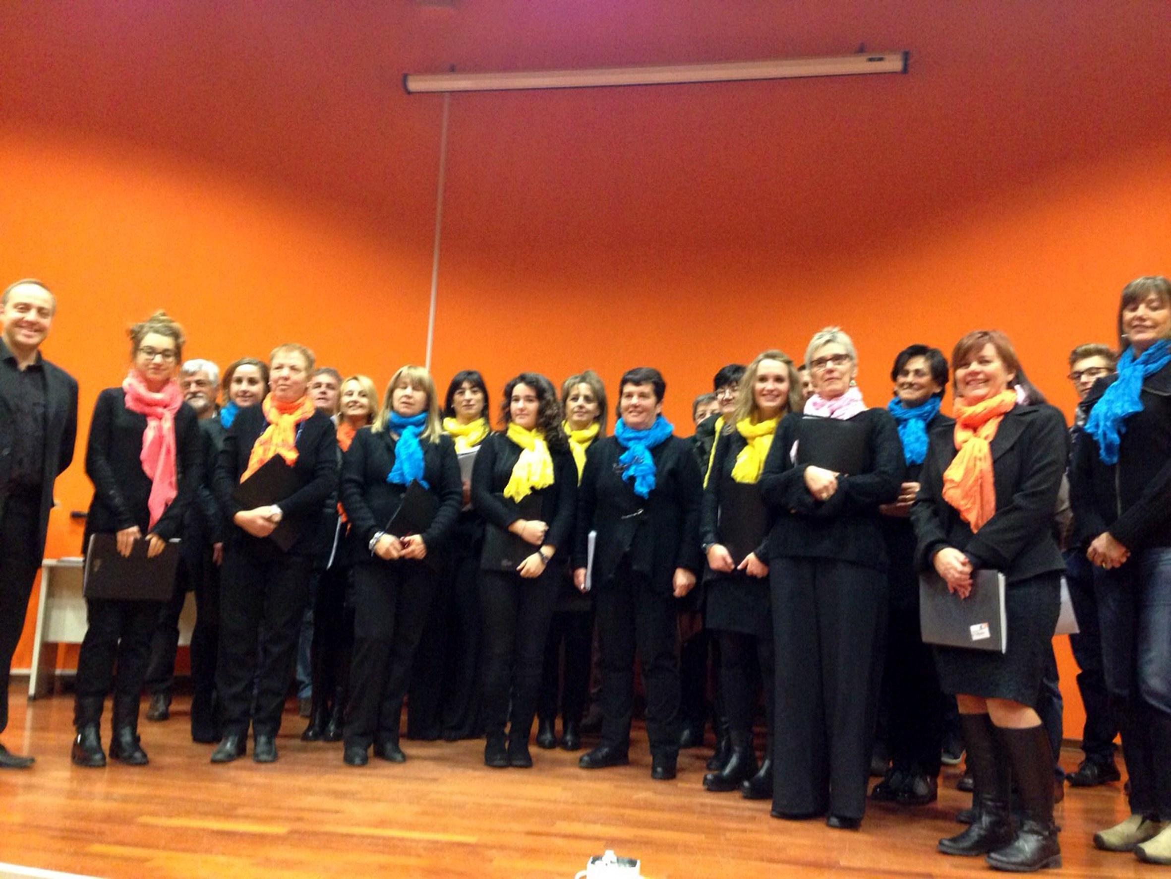 Il nuovo coro di Giaglione ad Oulx