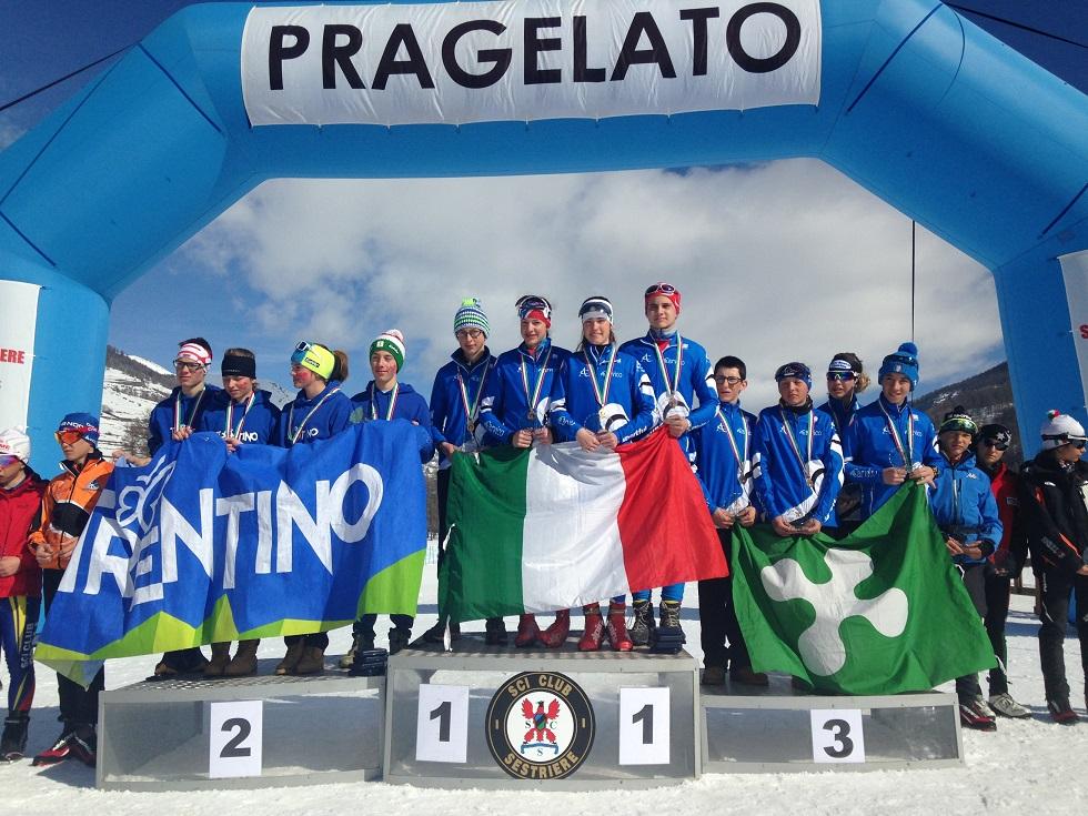 PRAGELATO . TRICOLORE RAGAZZI SCI NORDICO: PRAGELATO SALUTA I CAMPIONI D'ITALIA