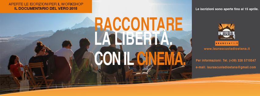 L'Aura Scuola di cinema di Ostana: al via il 4 maggio il workshop