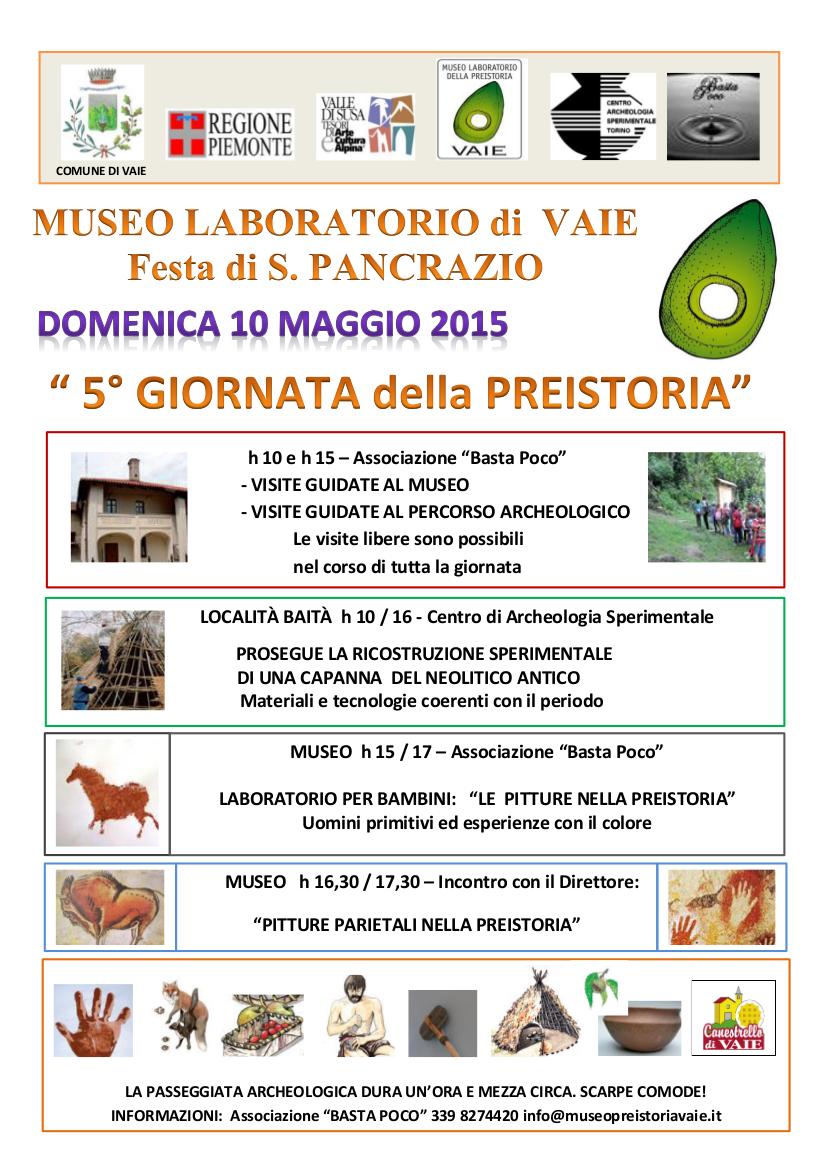 Appuntamenti del weekend in Valle di Susa, 8-10 maggio