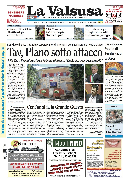n. 20 del 22 maggio 2015