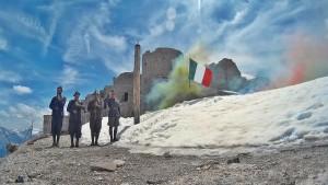 Commemorazione in Vetta allo Chaberton