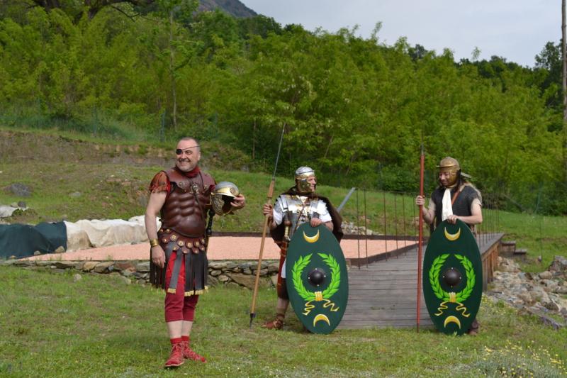 I romani tornano nella villa di Almese: rievocazione storica, il 21 giugno, nel sito archeologico