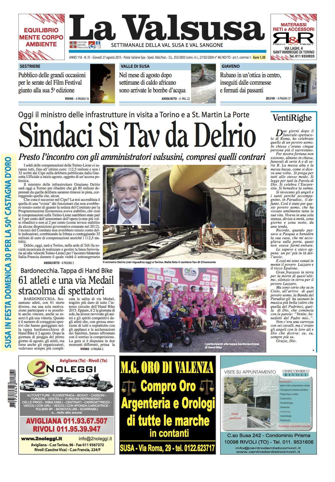 n. 31 del 27 agosto 2015
