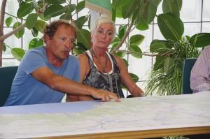 Alessandra Pistore e Giancarlo Tedeschi