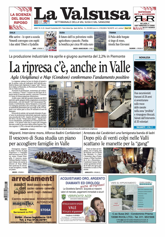 n. 33 del 10 settembre 2015
