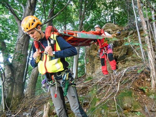 Cercatori di funghi salvati dal Soccorso Alpino