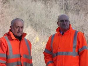 Mario Virano (a sinistra) con l'Ad delle Ferrovie Michele Elia