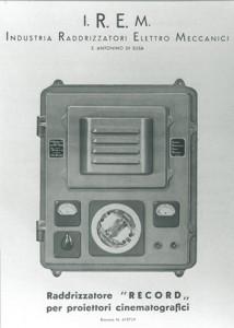 Il primo raddrizzatore brevettato da Mario Celso