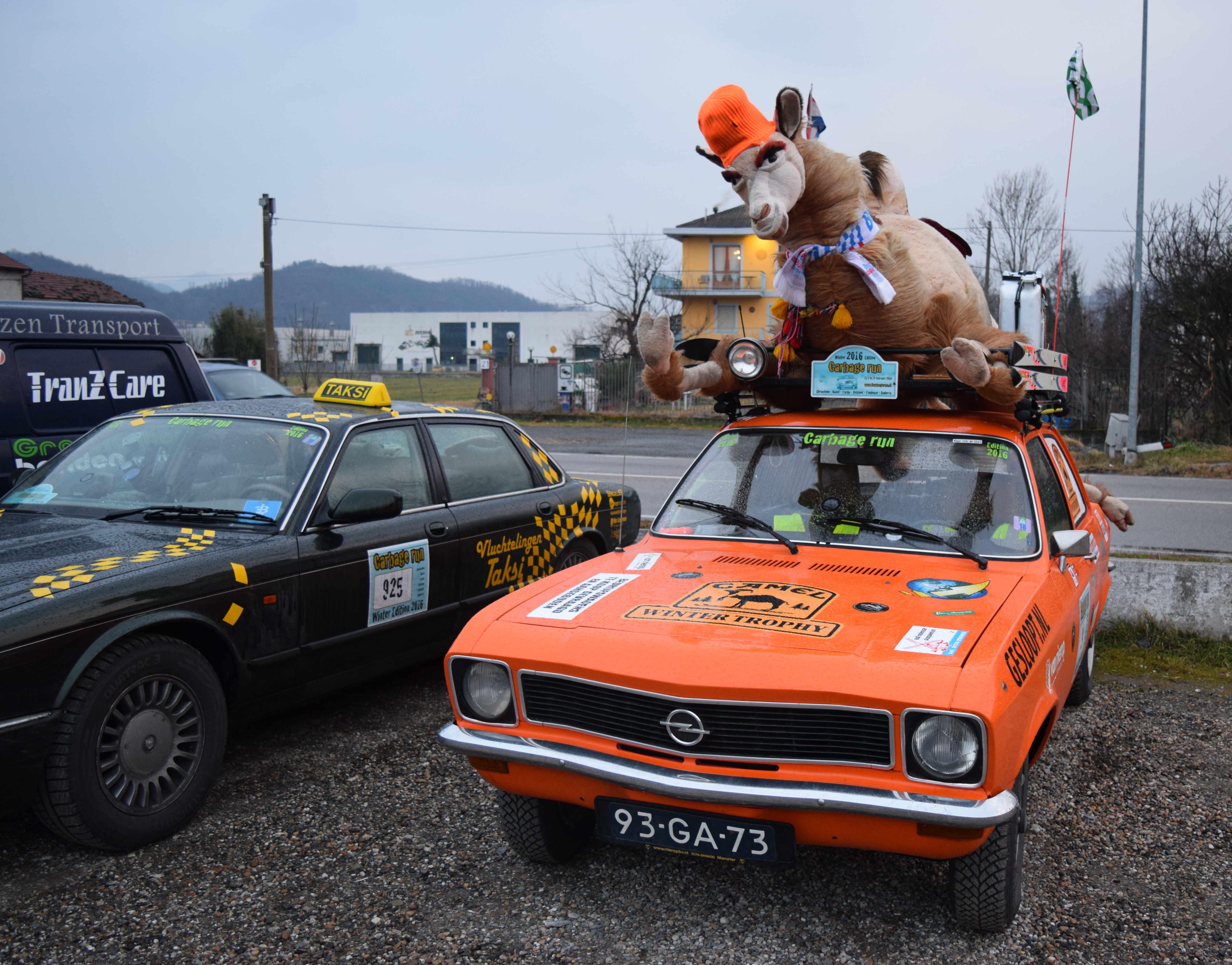 Pit stop valsusino per le auto più pazze d'Europa