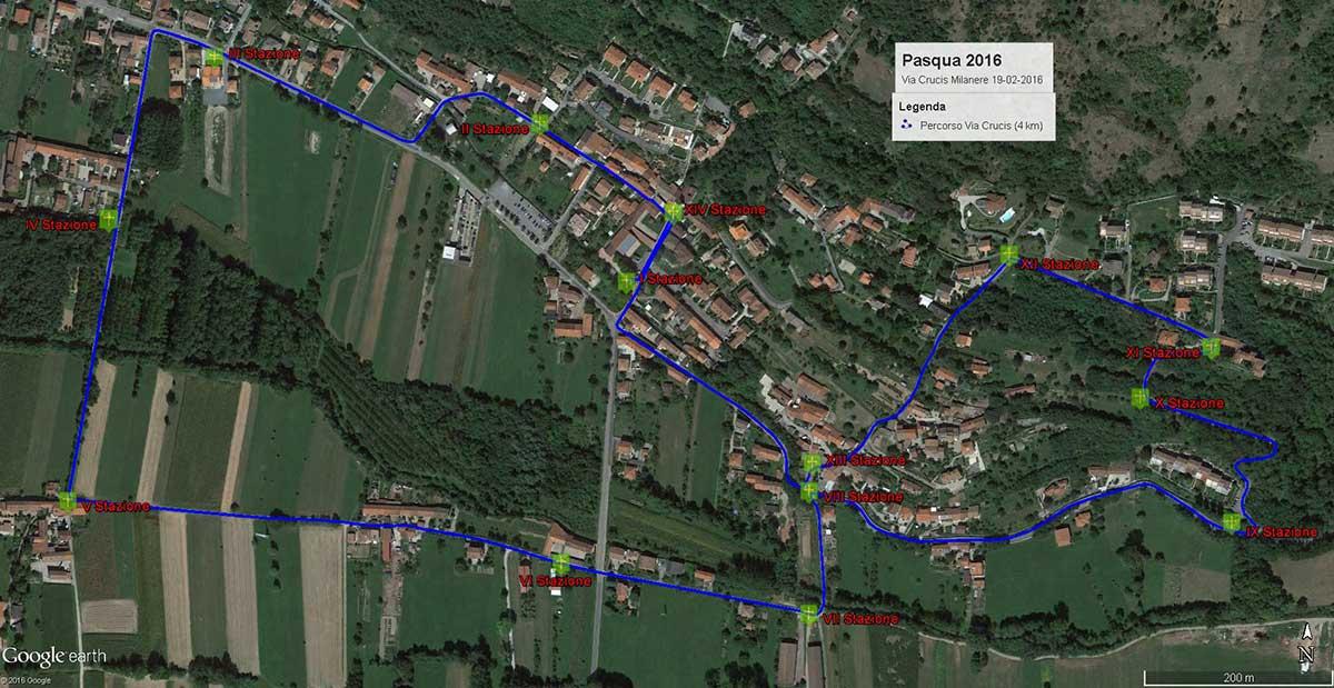 Venerdì 19 febbraio, Via Crucis diocesana a Milanere (Almese)