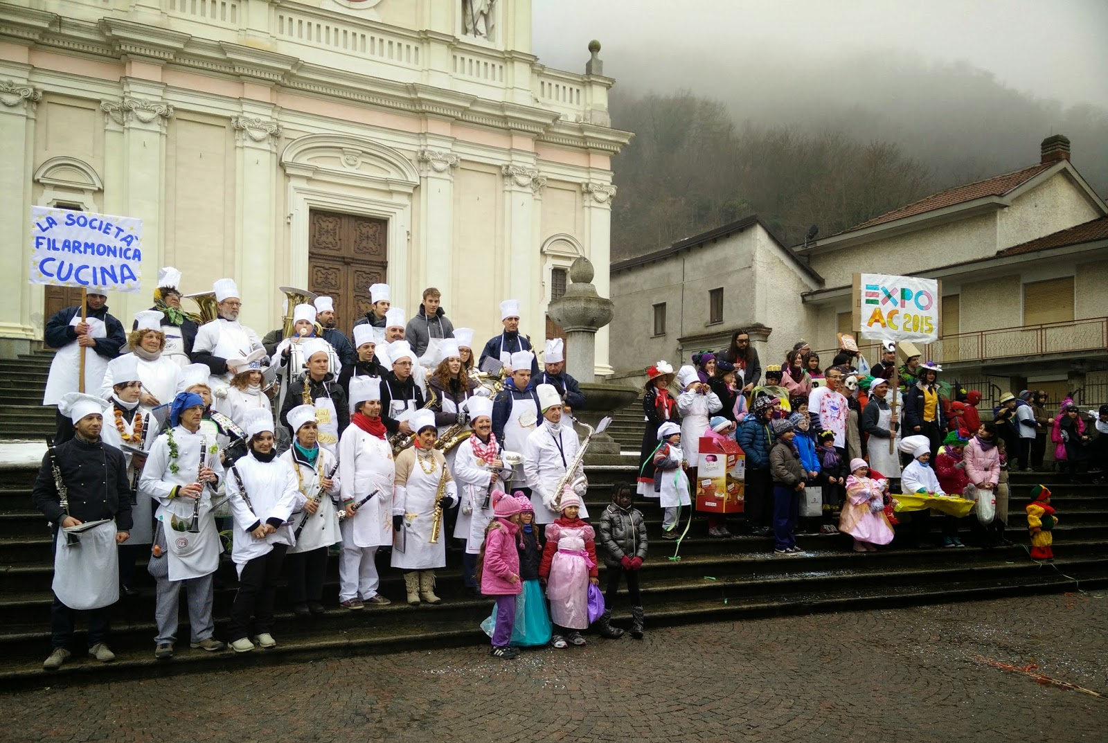 CARNEVALE a Chiusa San Michele con i CARTOON