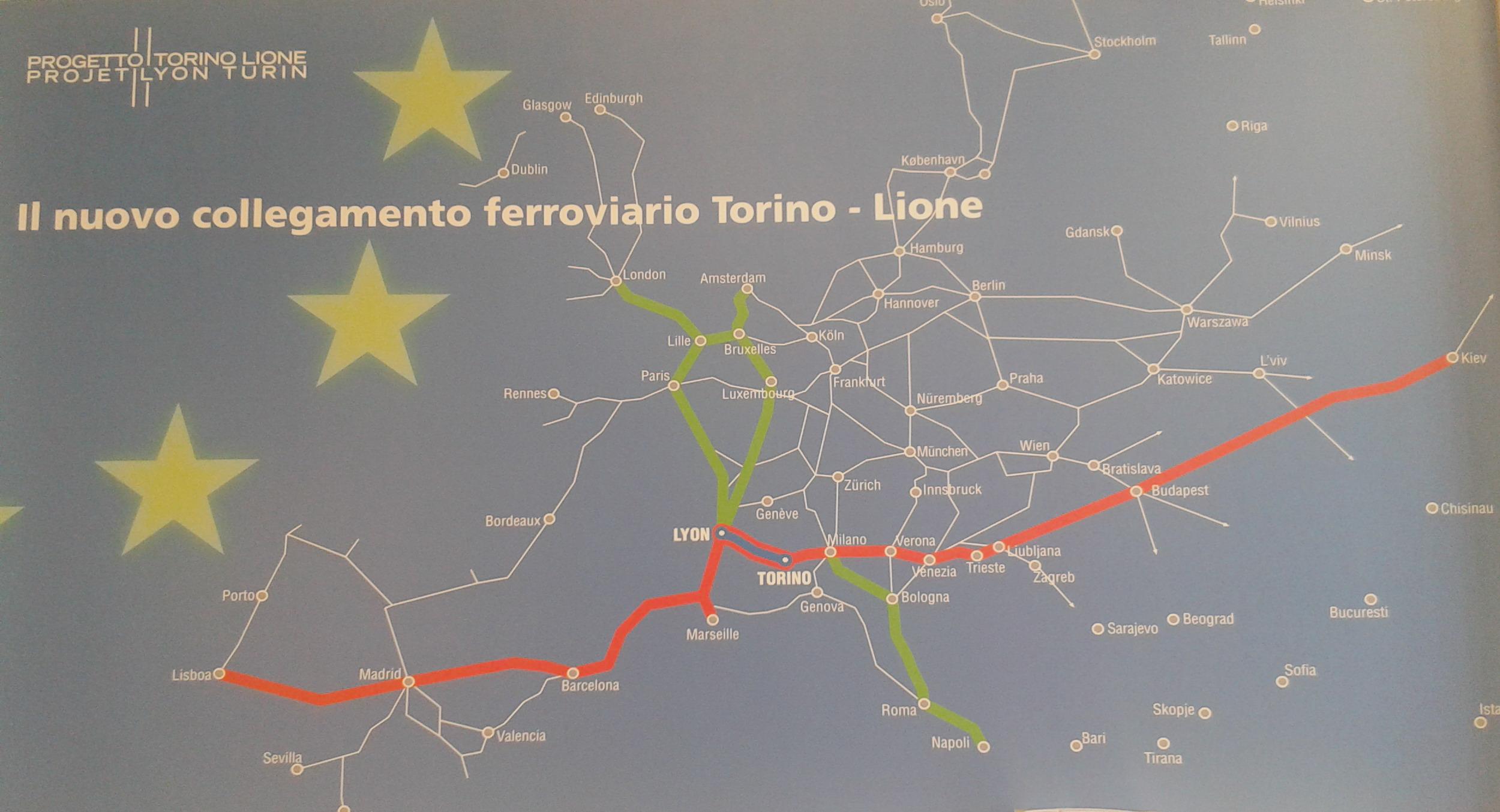"""""""Warning On Crime"""", occhi puntati sulla Torino-Lione"""