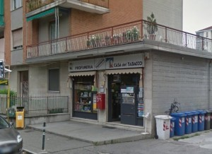 Il luogo dell'operazione dei carabinieri, a Orbassano
