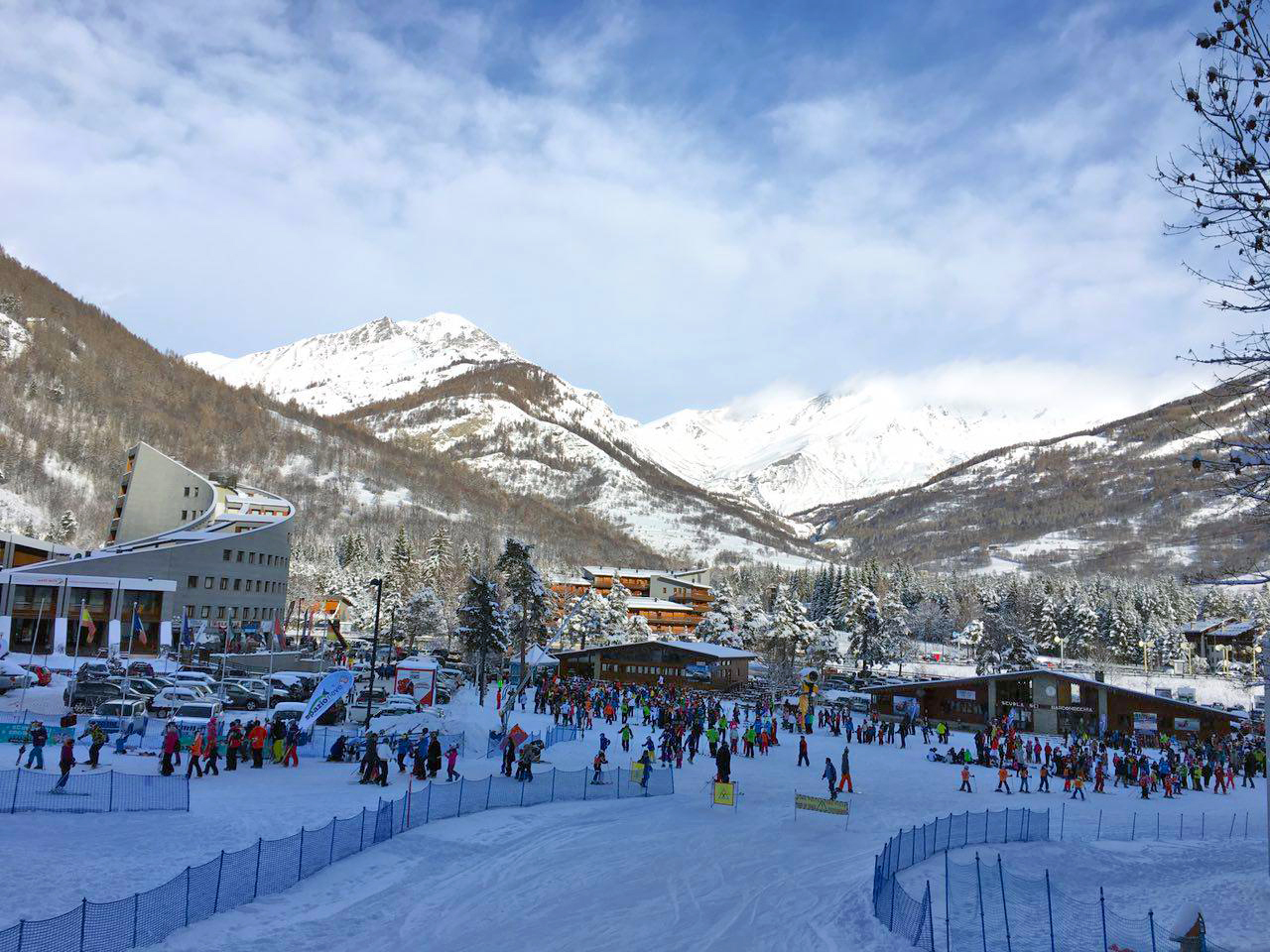 Bardonecchia: Giornata di sole con la neve!
