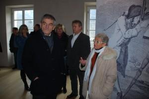 Sergio Chiamparino con l'architetto Maria Pia Del Bianco