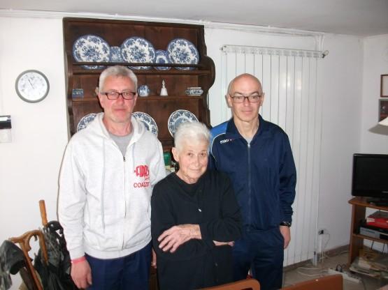Da sinistra, Claudio Varesio, Ester Gomba e Pierluigi Giacone