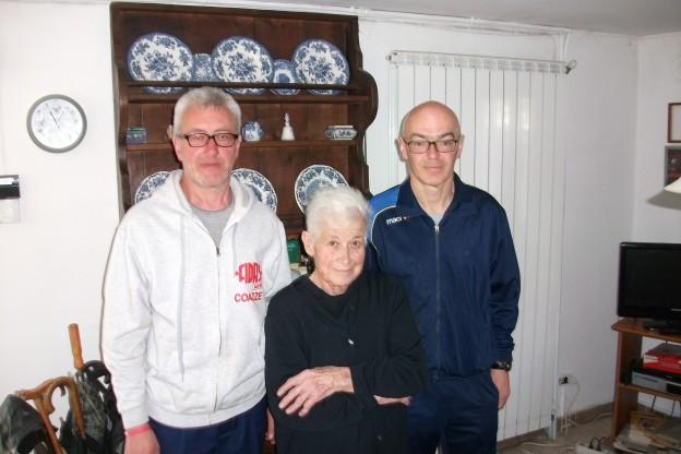 Ester Gomba, l'ex donatrice Fidas più anziana di Coazze