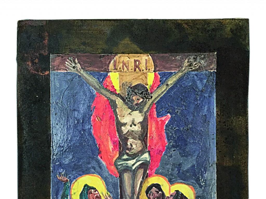 La Via Crucis in mostra nella chiesa dei Batù di Giaveno