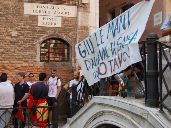 Venezia-Villar Focchiardo, vertici e controvertici