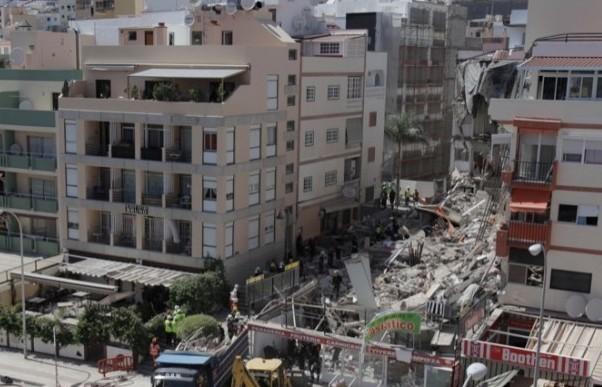Crollo palazzo a Tenerife, un giavenese è tra i dispersi