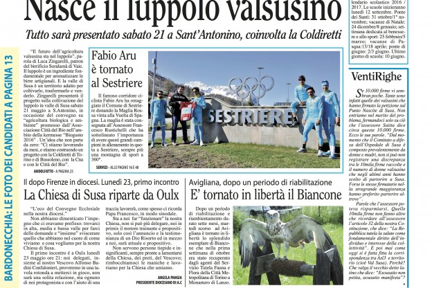 n. 20 del 19 maggio 2015