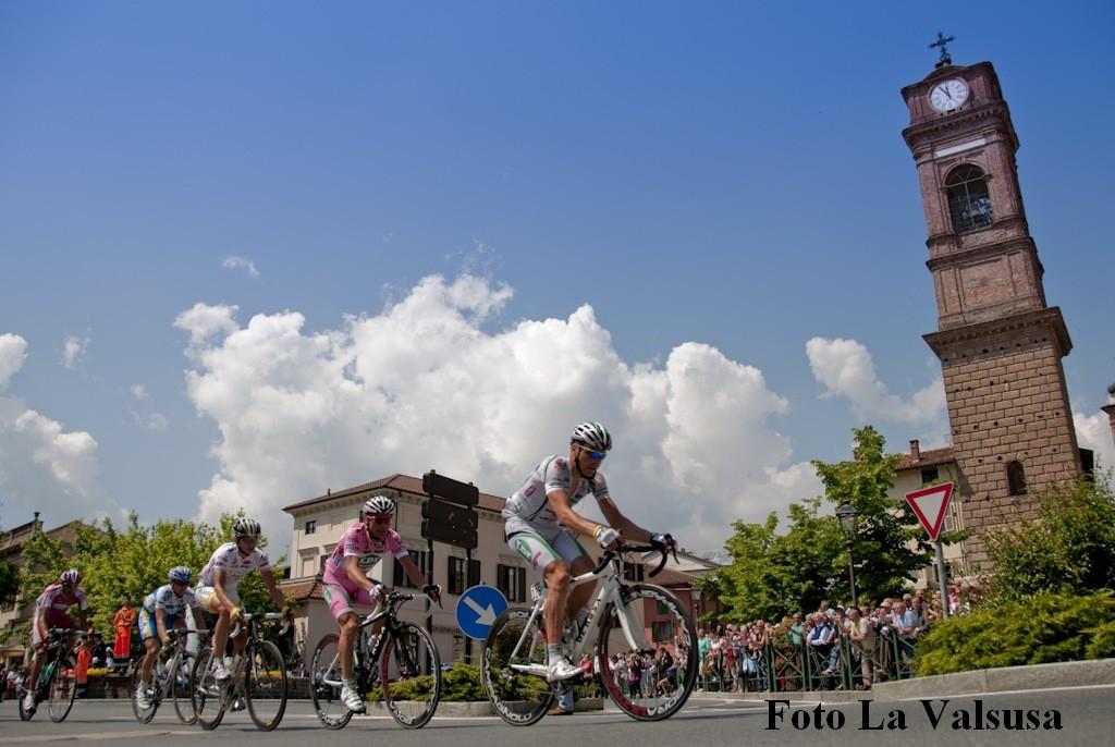 Il Giro d'Italia attraverserà Giaveno