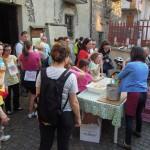 Il ristoro al Cresto (foto Marco Albano)