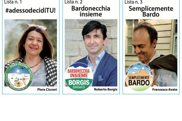 Bardonecchia: i candidati per le comunali del 5 giugno 2016