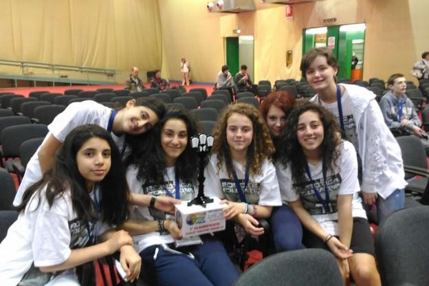 I ragazzi di S.Antonino campioni italiani di Robotica