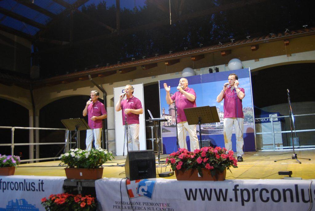 "A Giaveno ""Le Nostre Valli"" cantano per Candiolo"