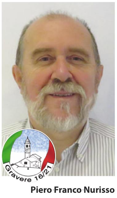 Gravere: il nuovo sindaco è Piero Franco Nurisso