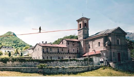 Villar Focchiardo, sabato 11 Loreni cammina sul filo