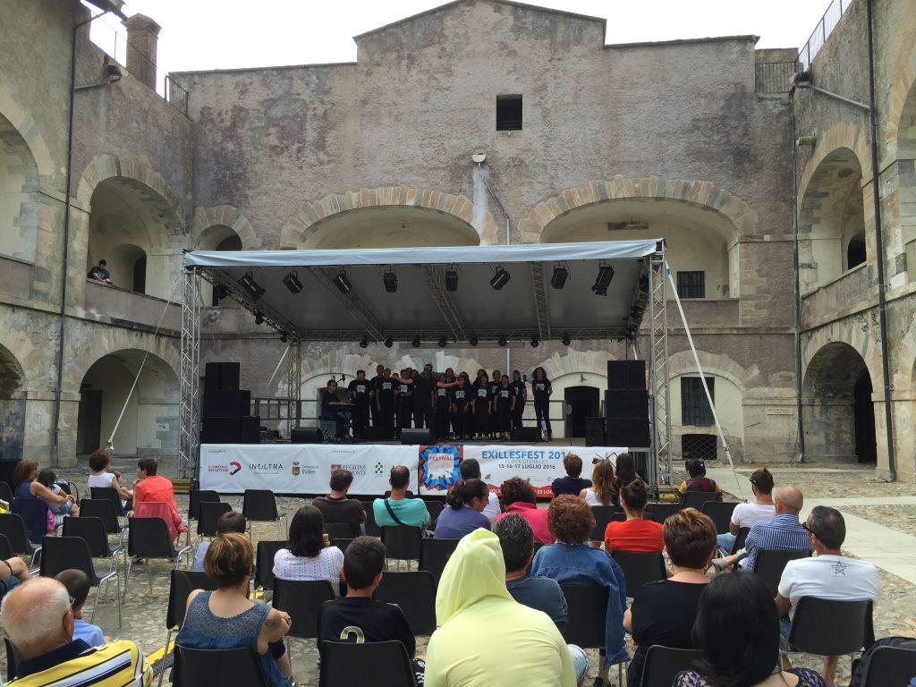 Exillesfest 2016 No Name Gospel Choir in concerto