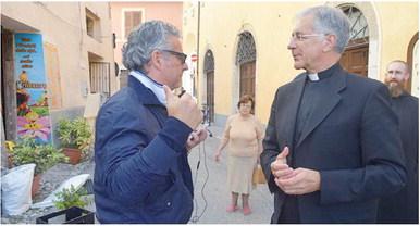 Mons. Boccardo, un valsusino nella terra ferita dal sisma