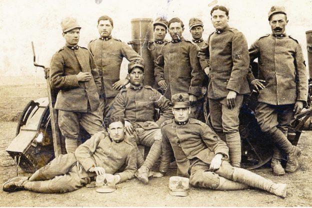 Serafino Prin, trombettiere, artigliere e bombardiere