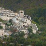 Borgo in località Campi di Norcia