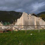 La Chiesa di San Salvatore in localita Campi di Norcia