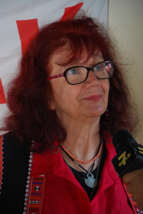 Nicoletta Dosio fermata dalla Polizia