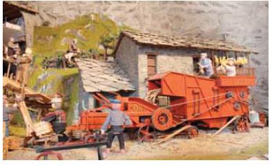 Chianocco, il presepe degli antichi mestieri