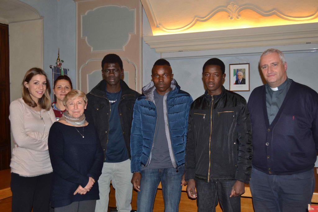 S.Antonino accoglie altri tre profughi