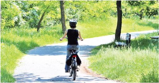 Il futuro del turismo in Bassa Valle? La bicicletta