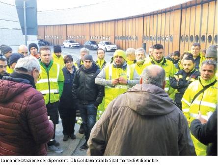 Ok Gol, 150 euro ai lavoratori. Presto l'accordo sulla sicurezza