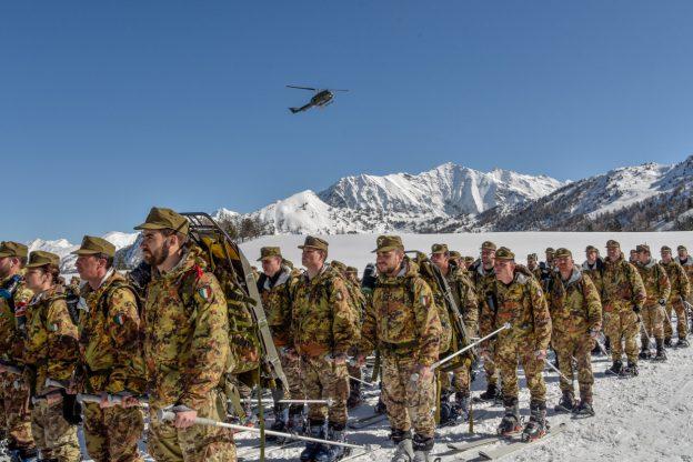 La Taurinense saluta le Montagne Olimpiche