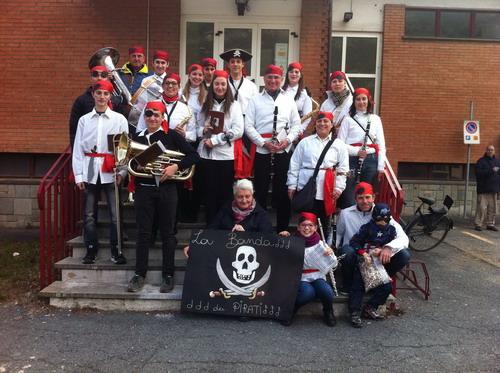 Borgone, una banda (musicale) di pirati