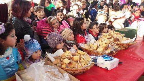 Sant'Antonino, pomeriggio di coriandoli