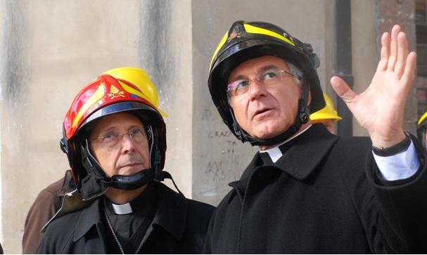 Sant'Ambrogio, mons. Boccardo racconta il terremoto