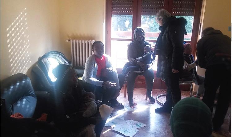 Dieci profughi a Coazze, sono donne e bambini